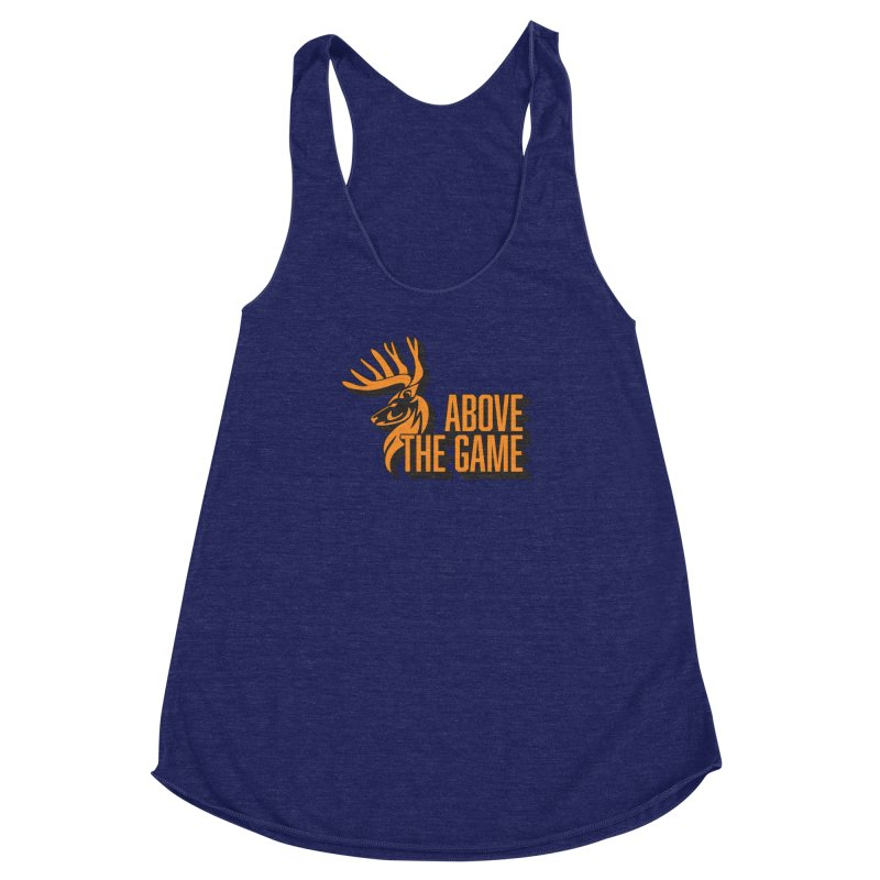 Above The Game Women's Racerback Triblend Tank by abovethegame's Artist Shop