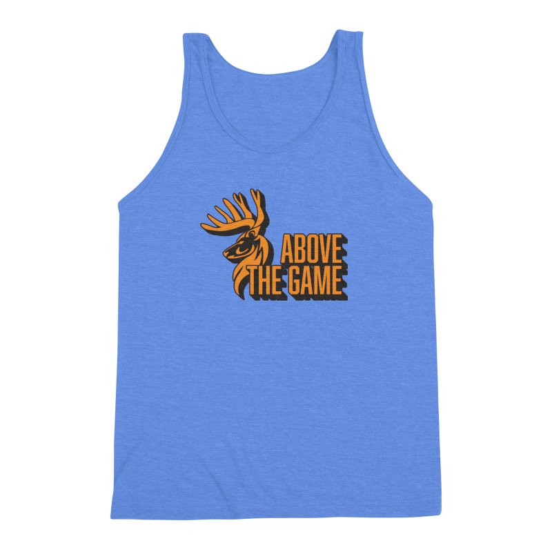 Above The Game Men's Triblend Tank by abovethegame's Artist Shop