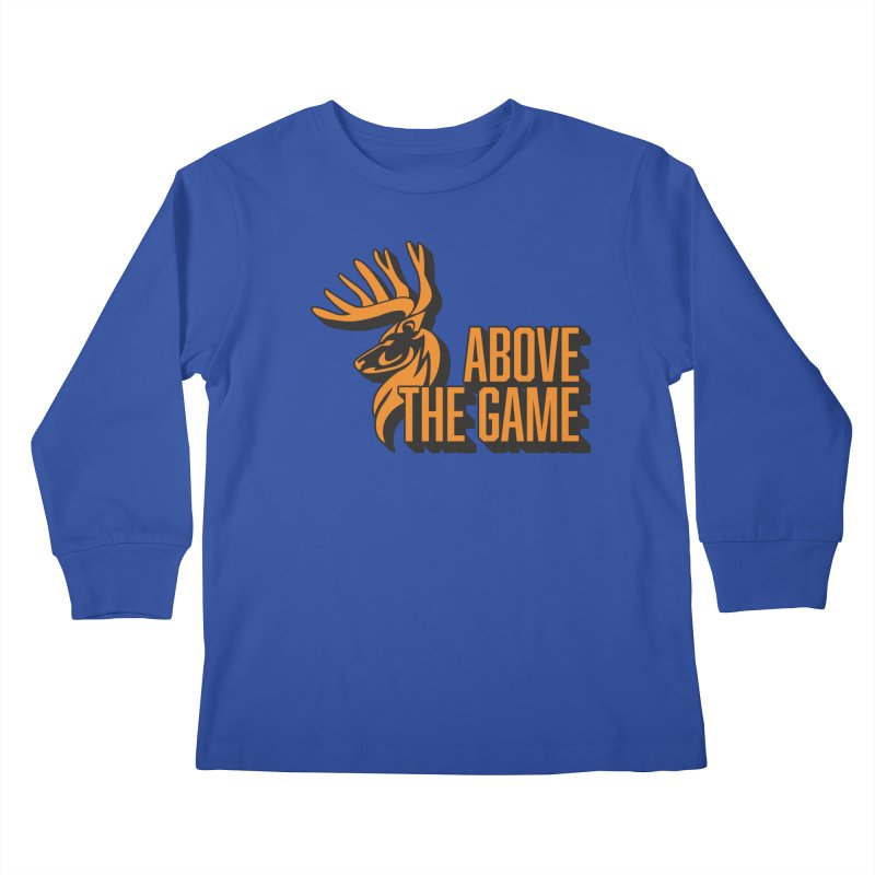 Above The Game Kids Longsleeve T-Shirt by abovethegame's Artist Shop