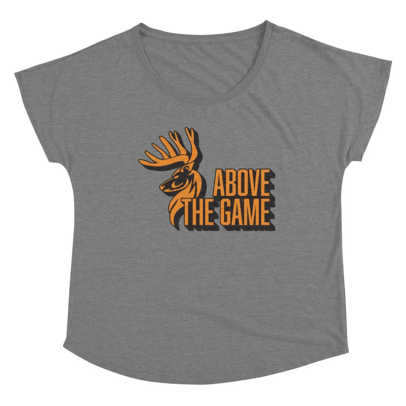 Above The Game Women's Scoop Neck by abovethegame's Artist Shop