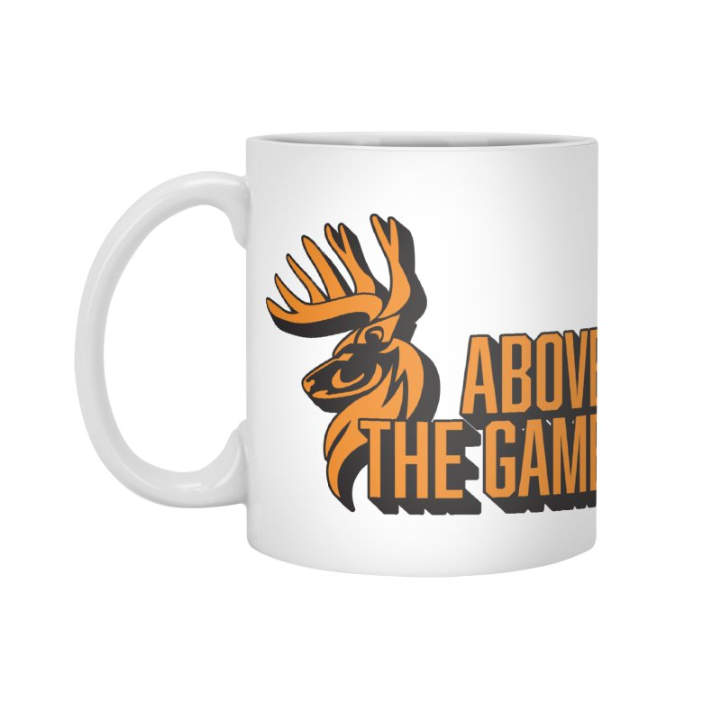 Above The Game Accessories Standard Mug by abovethegame's Artist Shop