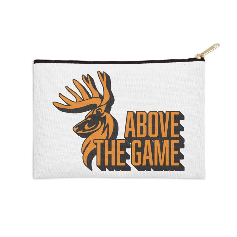 Above The Game in Zip Pouch by abovethegame's Artist Shop