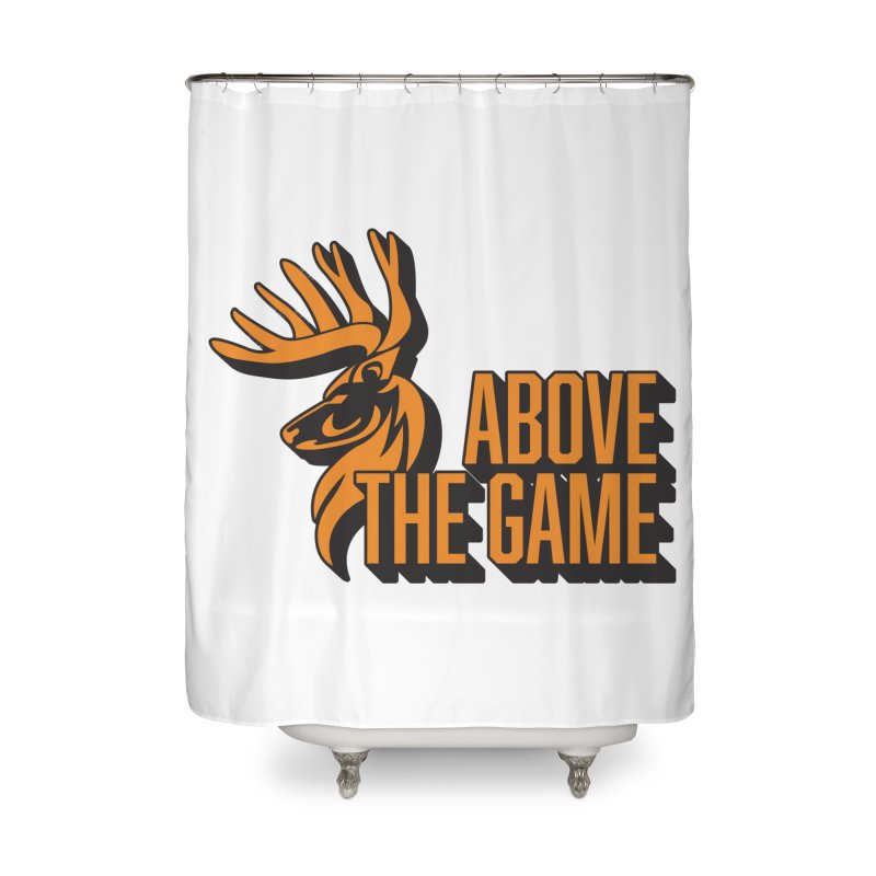 Above The Game Home Shower Curtain by abovethegame's Artist Shop