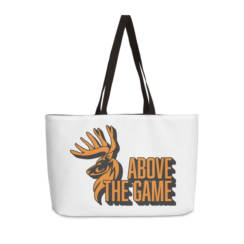 Above The Game Accessories Weekender Bag Bag by abovethegame's Artist Shop
