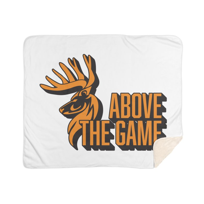 Above The Game Home Sherpa Blanket Blanket by abovethegame's Artist Shop
