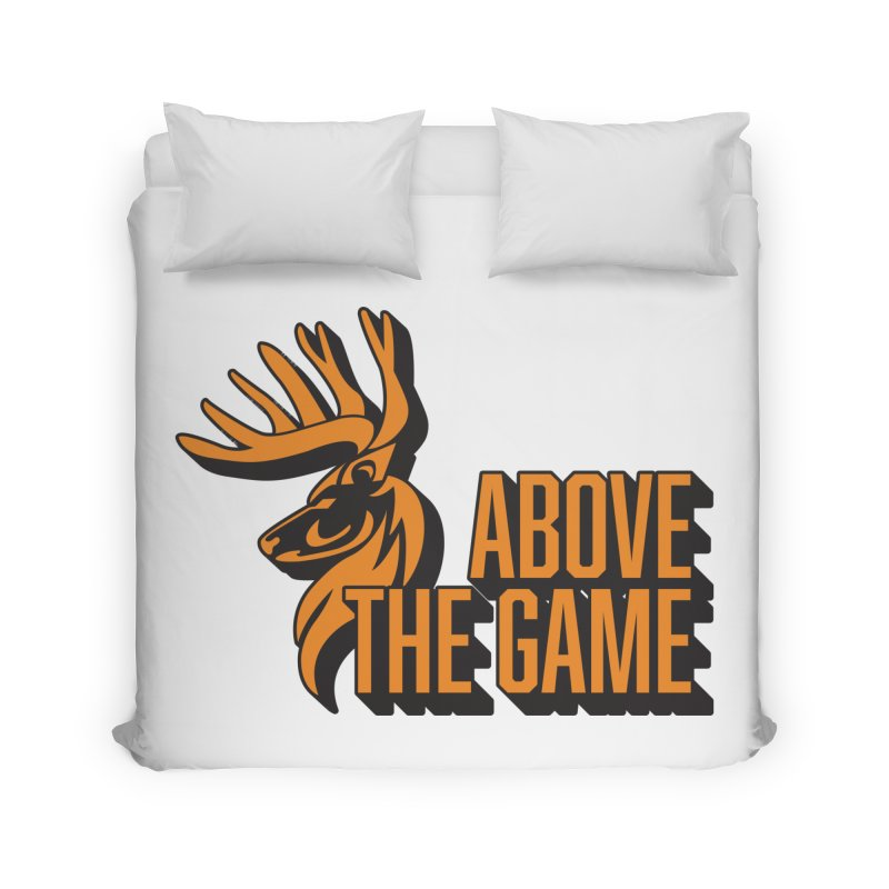 Above The Game Home Duvet by abovethegame's Artist Shop