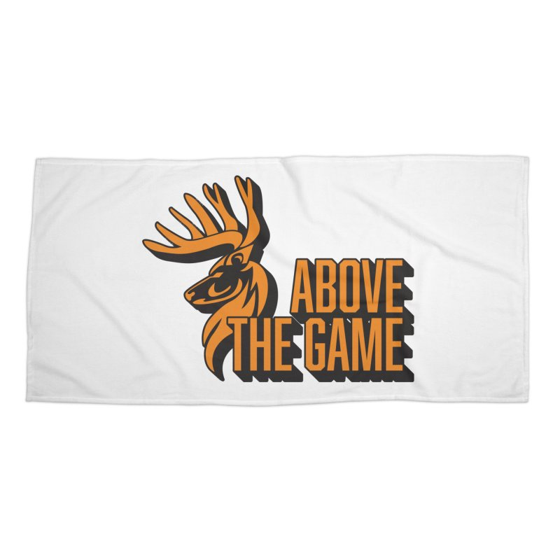 Above The Game Accessories Beach Towel by abovethegame's Artist Shop