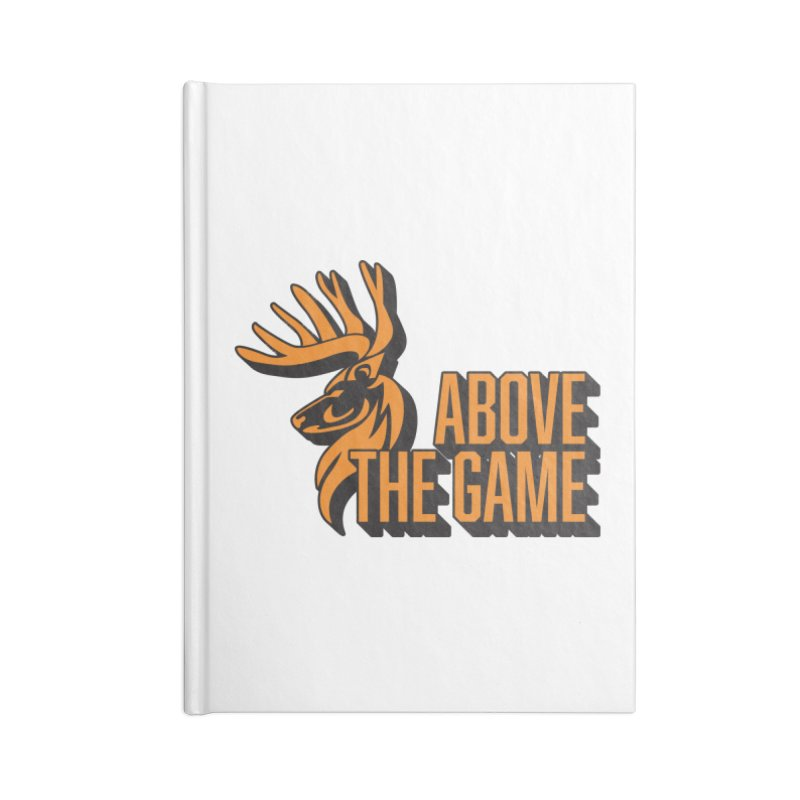 Above The Game Accessories Lined Journal Notebook by abovethegame's Artist Shop
