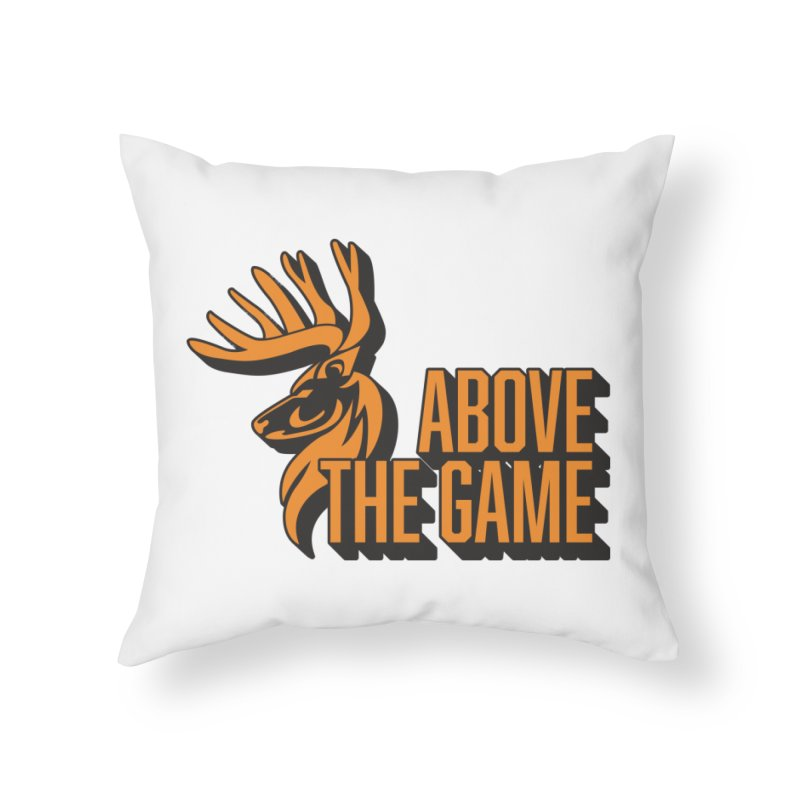 Above The Game Home Throw Pillow by abovethegame's Artist Shop