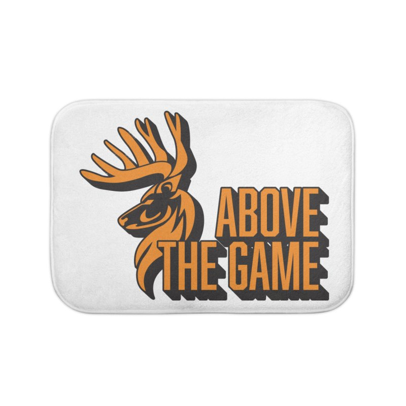 Above The Game Home Bath Mat by abovethegame's Artist Shop
