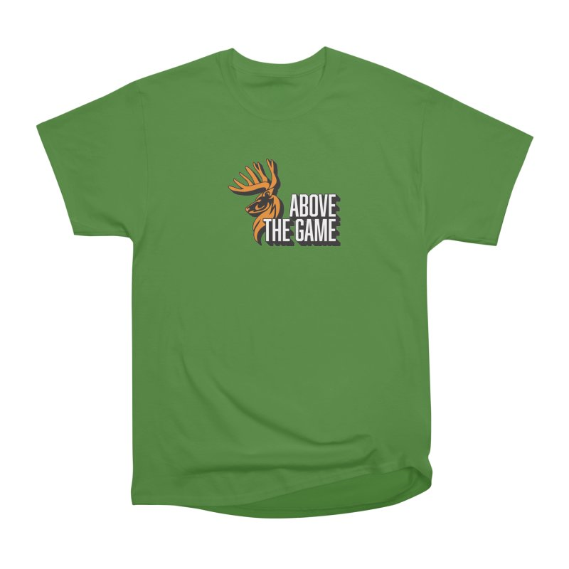 Above The Game - White Logo Men's Classic T-Shirt by abovethegame's Artist Shop
