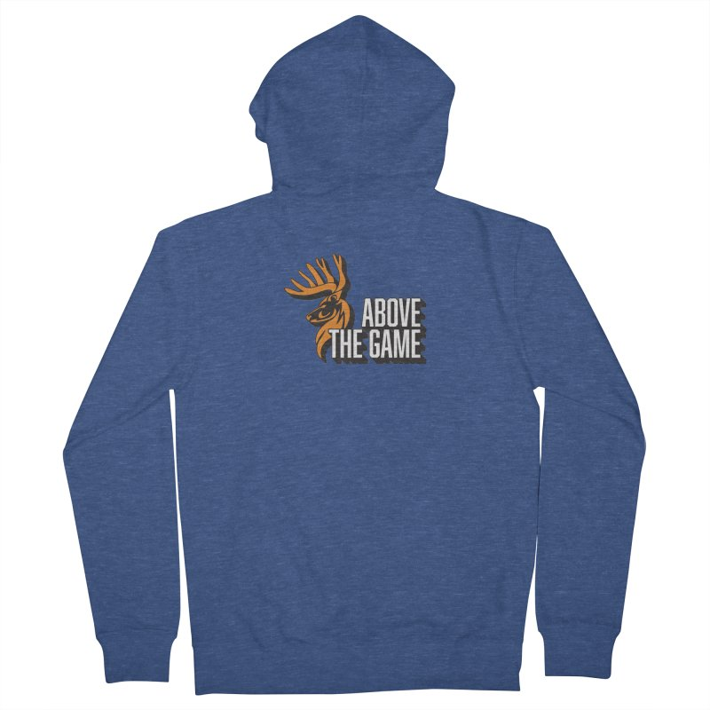 Above The Game - White Logo Women's Zip-Up Hoody by abovethegame's Artist Shop