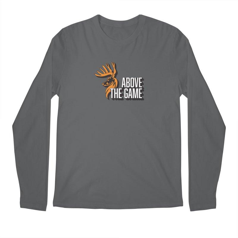 Above The Game - White Logo Men's Longsleeve T-Shirt by abovethegame's Artist Shop