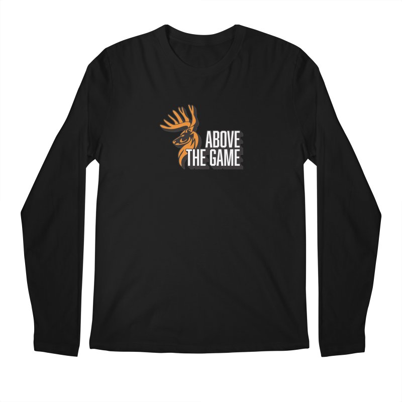 Above The Game - White Logo Men's Longsleeve T-Shirt by abovethegame's Artist Shop