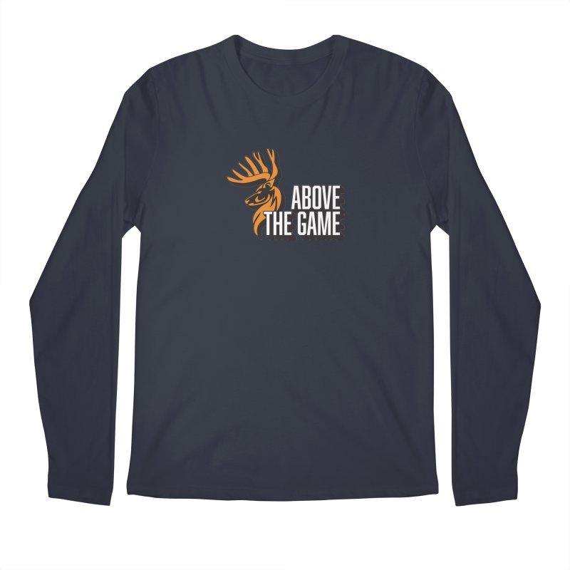 Above The Game - White Logo Men's Regular Longsleeve T-Shirt by abovethegame's Artist Shop
