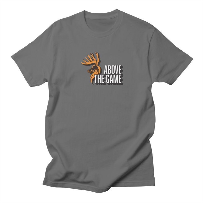 Above The Game - White Logo Women's Regular Unisex T-Shirt by abovethegame's Artist Shop