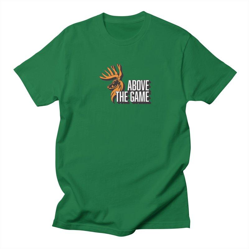 Above The Game - White Logo Women's Unisex T-Shirt by abovethegame's Artist Shop