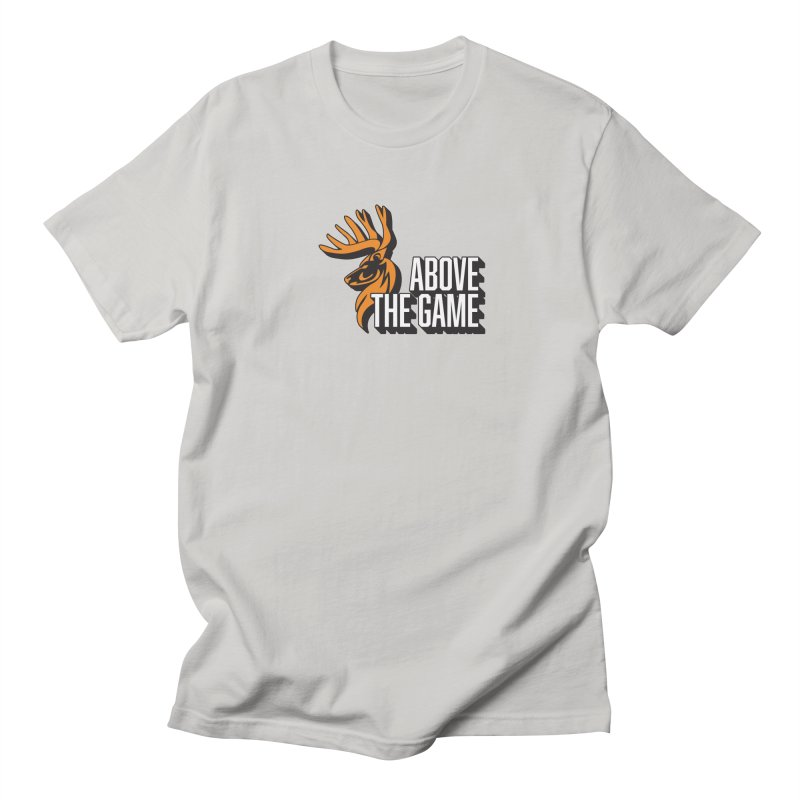 Above The Game - White Logo Women's Unisex T-Shirt by abovethegame's Artist Shop