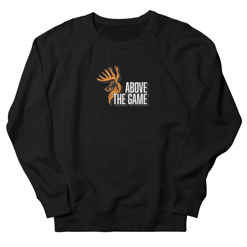 Above The Game - White Logo Men's Sweatshirt by abovethegame's Artist Shop