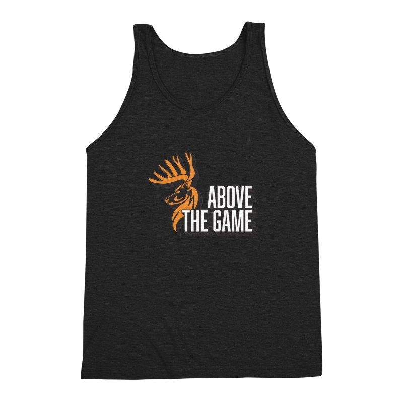 Above The Game - White Logo Men's Tank by abovethegame's Artist Shop