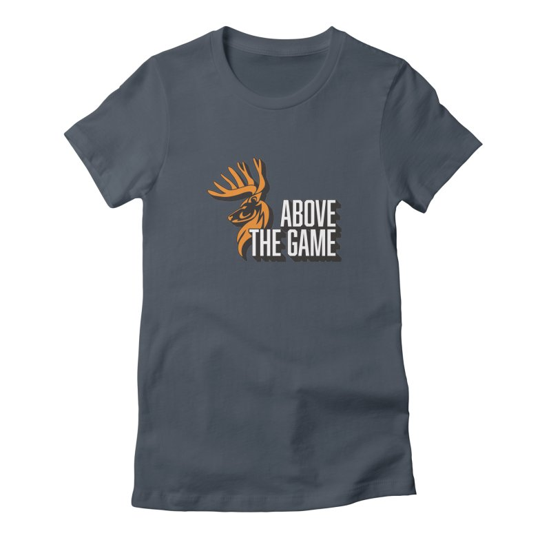 Above The Game - White Logo Women's Lounge Pants by abovethegame's Artist Shop