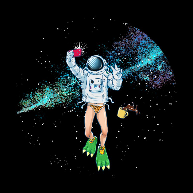 Balls in Space Women's T-Shirt by abrahambalcazar's Artist Shop