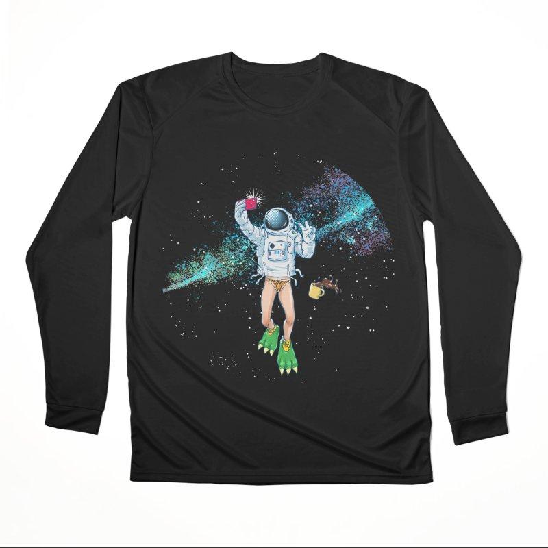 Balls in Space Women's Longsleeve T-Shirt by abrahambalcazar's Artist Shop