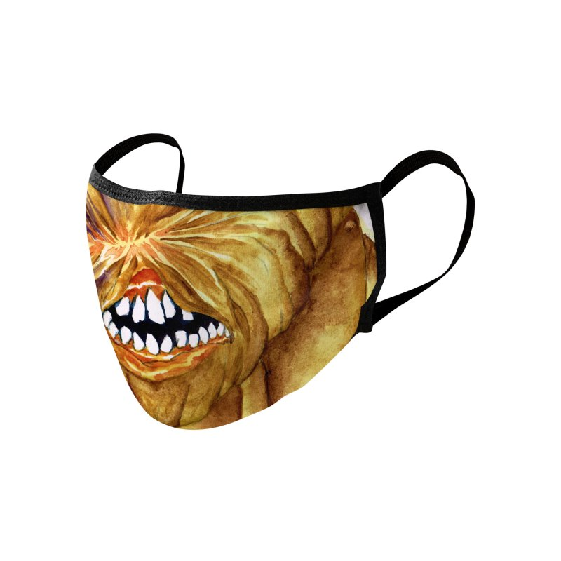 Monstermask 1 Accessories Face Mask by abrahambalcazar's Artist Shop