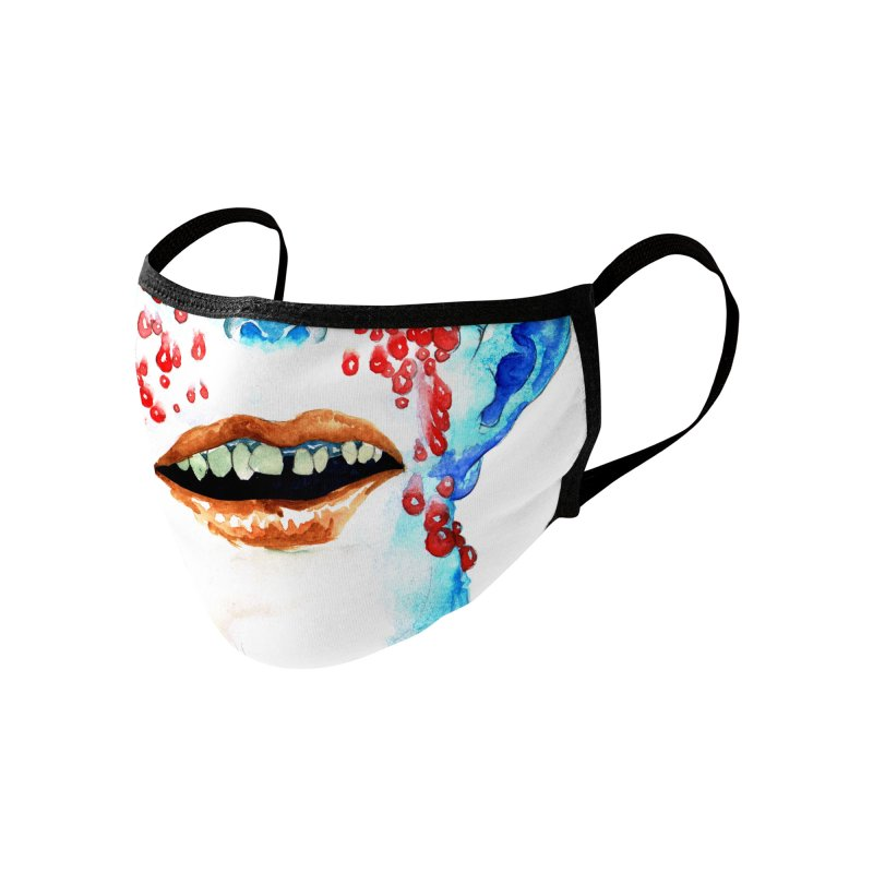 Monstermask 3 Accessories Face Mask by abrahambalcazar's Artist Shop