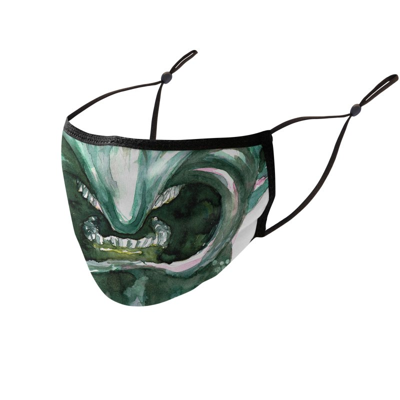 Monstermask 6 Accessories Face Mask by abrahambalcazar's Artist Shop