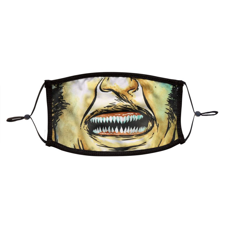 Monstermask 7 Accessories Face Mask by abrahambalcazar's Artist Shop