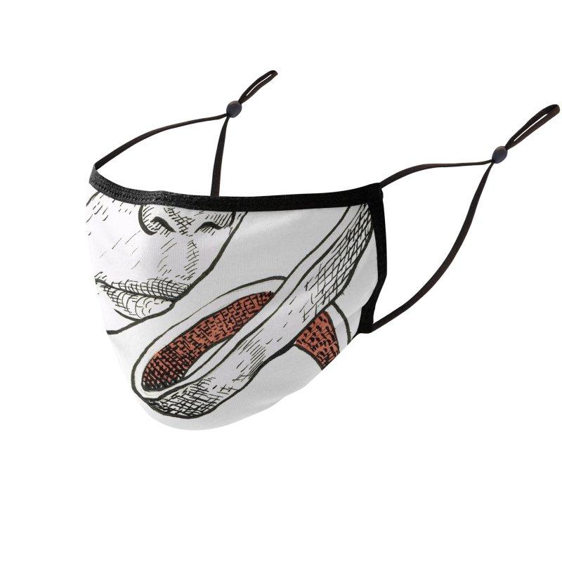 Weirdmask 1 Accessories Face Mask by abrahambalcazar's Artist Shop