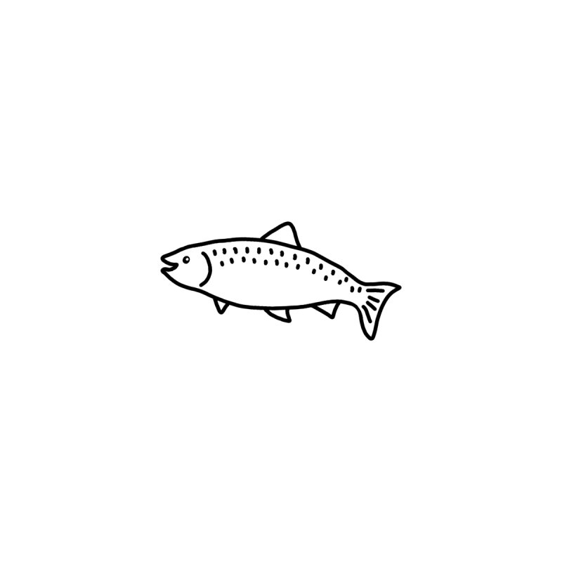 Hello Fish Men's Tank by Abroadland Art