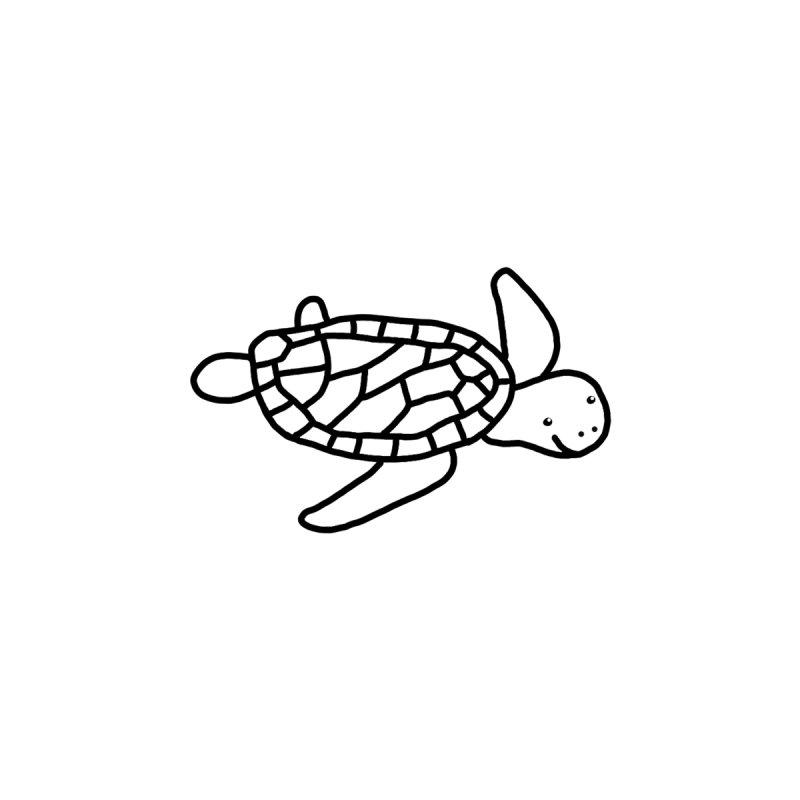 Hello Turtle Men's V-Neck by Abroadland Art