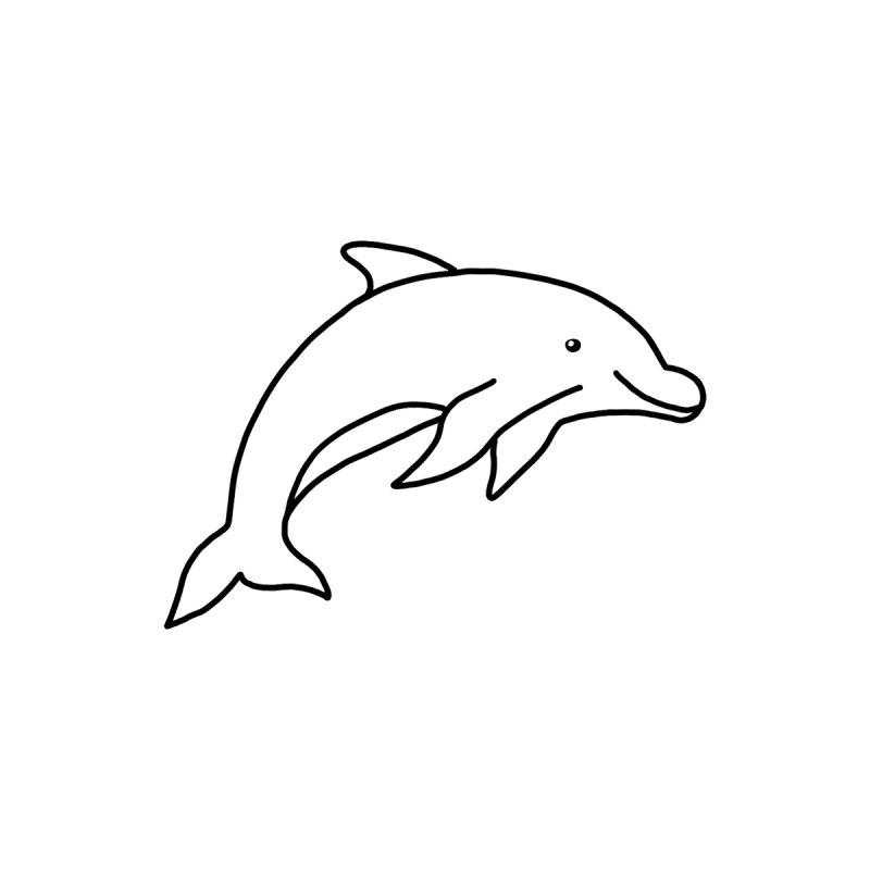 Hello Dolphin Accessories Mug by Abroadland Art