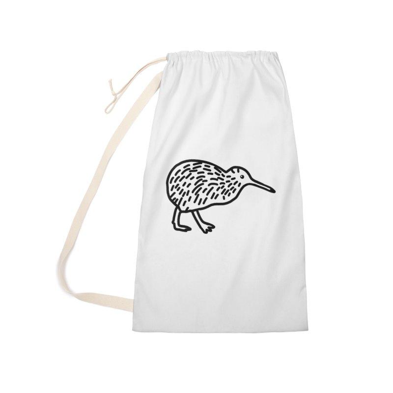 Hello Kiwi Accessories Bag by Abroadland Art