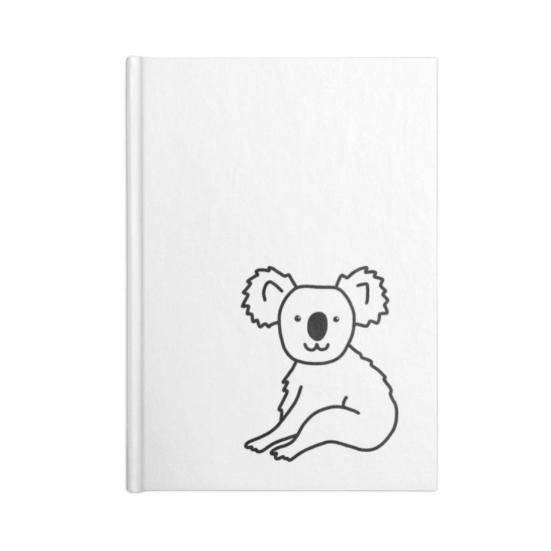 Hello Koala Accessories Notebook by Abroadland Art