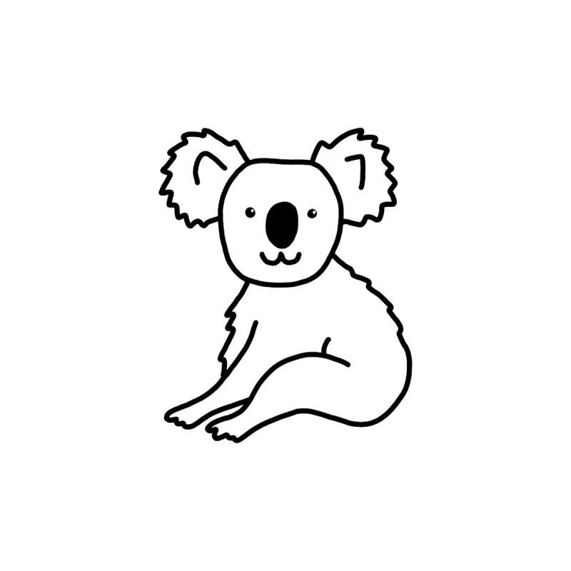 Hello Koala Men's Pullover Hoody by Abroadland Art
