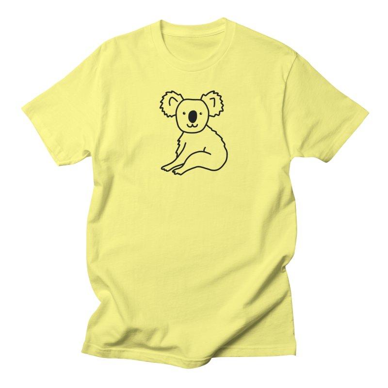 Hello Koala Men's T-Shirt by Abroadland Art