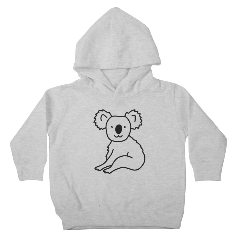 Hello Koala Kids Toddler Pullover Hoody by Abroadland Art