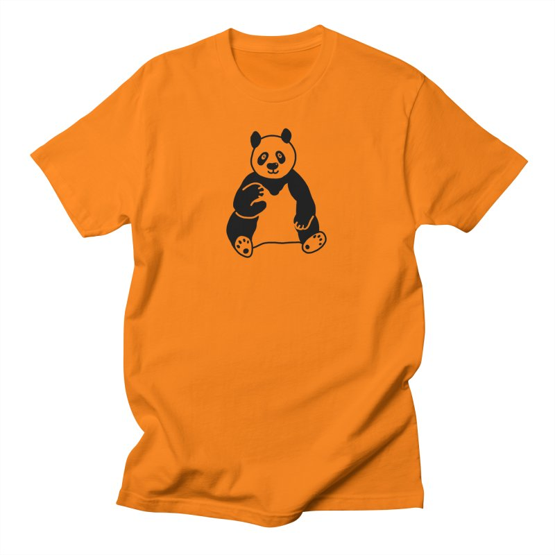 Hello Giant Panda Men's T-Shirt by Abroadland Art