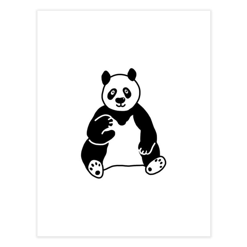 Hello Giant Panda Home Fine Art Print by Abroadland Art