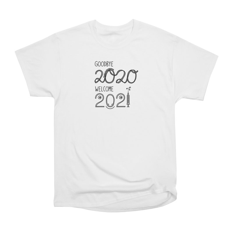 From the year 2020 to 2021 Women's T-Shirt by Abroadland Art