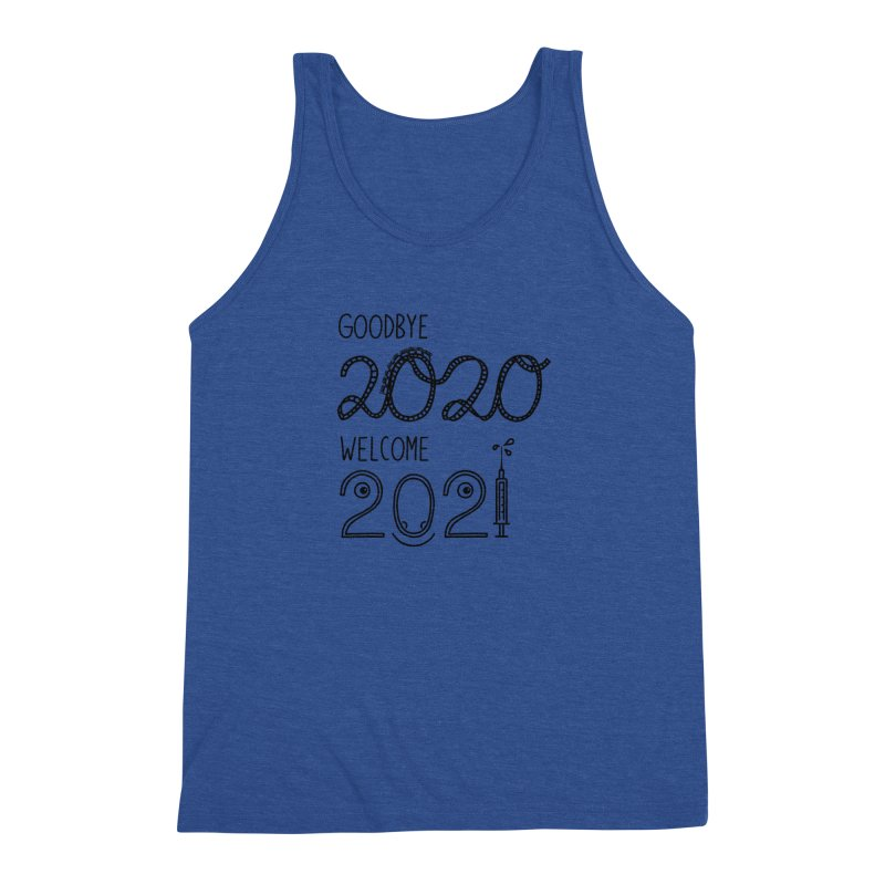 From the year 2020 to 2021 Men's Tank by Abroadland Art