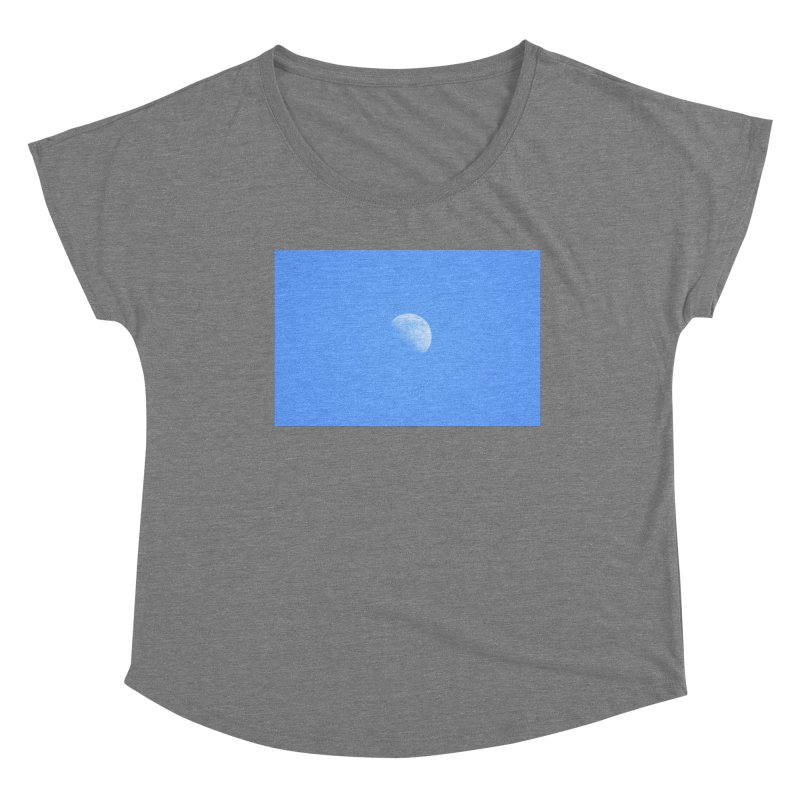 To the Moon and back Women's Scoop Neck by Abroadland Art
