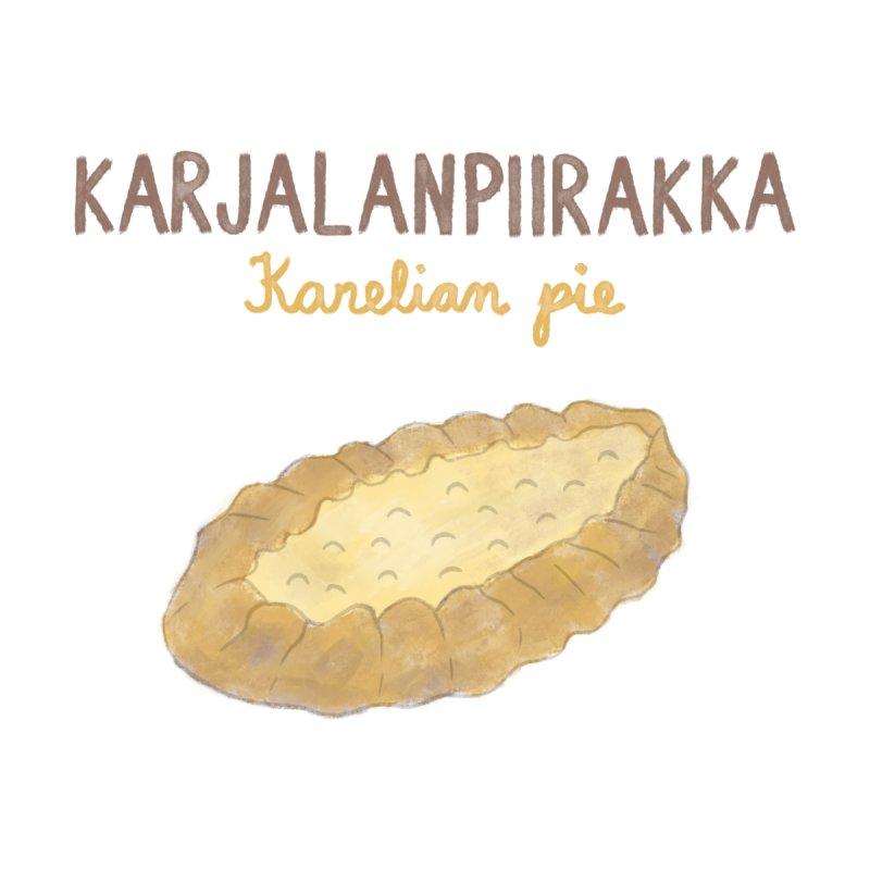 Karjalanpiirakka - Karelian Pie Men's T-Shirt by Abroadland Art