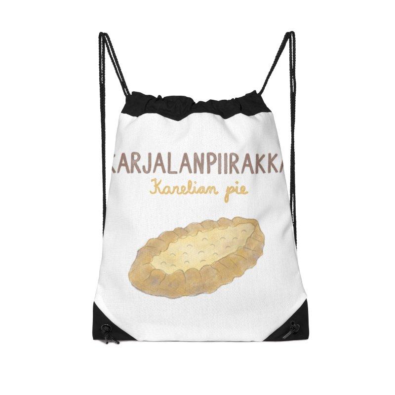 Karjalanpiirakka - Karelian Pie Accessories Bag by Abroadland Art