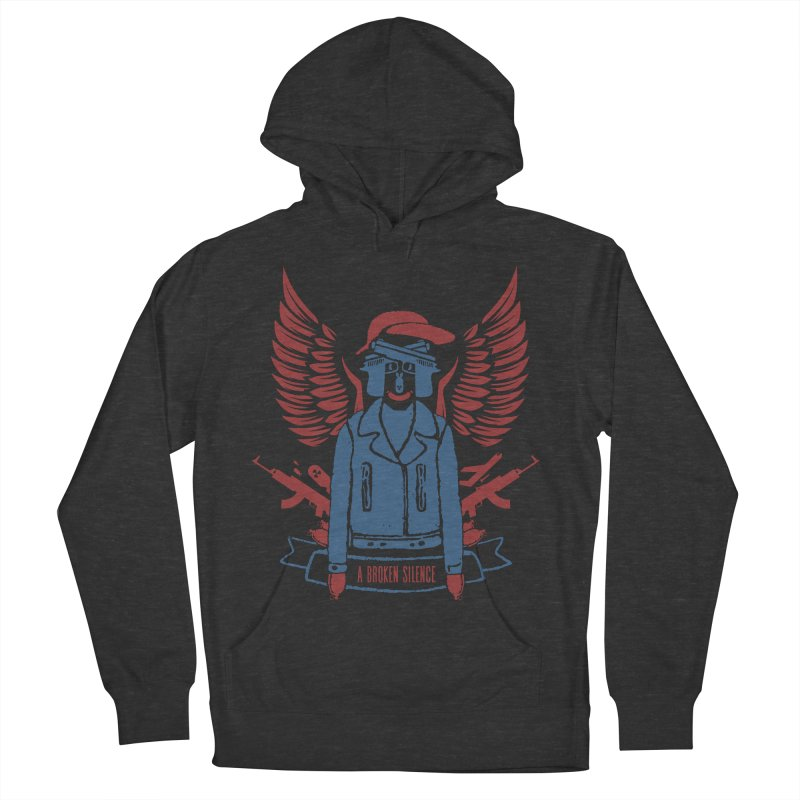 Boom / Black Men's French Terry Pullover Hoody by abrokensilence's Artist Shop