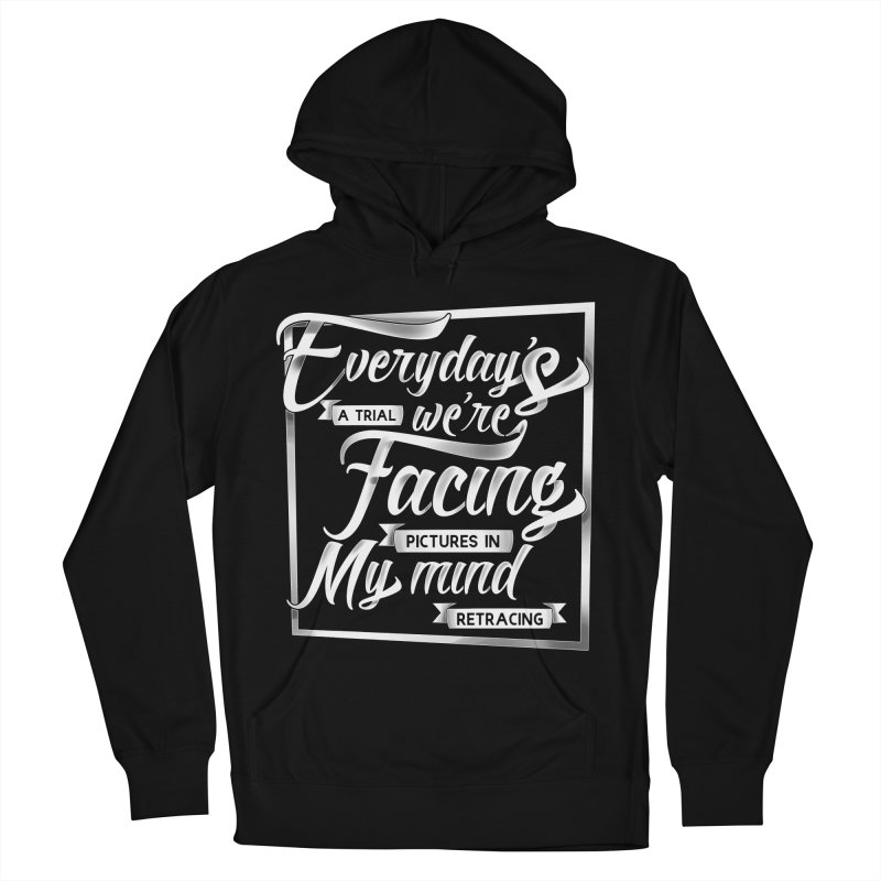 Everyday Men's French Terry Pullover Hoody by abrokensilence's Artist Shop