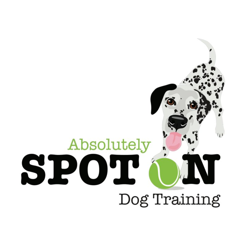 Absolutely Spot On Dog Training Women's V-Neck by Absolutely Spot On Dog Training